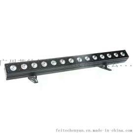 菲特TL113 LED18颗四合一/五合一/六合一不防水跑马点控洗墙灯