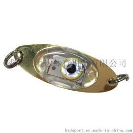出口熱銷 紐扣電池誘魚燈 LED電子發光路亞魚餌 水下集魚燈批發