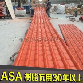 江西直销合成树脂塑料瓦  大型厂房工程建筑用瓦  养殖场隔热耐候瓦片
