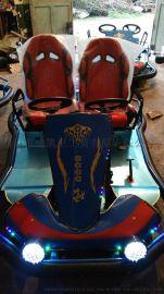 定做LQY-006遊樂場專用電動卡丁車 兒童成人雙用賽車
