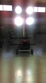 工程升降照明車SD-454400J移動升降照明車