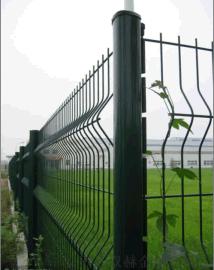 安徽1.8x3米高绿色折弯铁丝围栏网厂家批发
