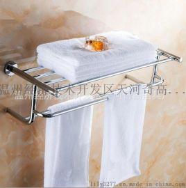 浴巾架毛巾架 全铜毛巾杆毛巾挂 卫生间卫浴挂件 置物架 卫生间