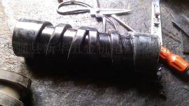枣强托辊厂家500皮带输送机钢芯螺旋橡胶托辊双向螺旋橡胶托辊