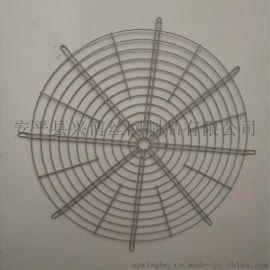 安平兴博丝网对外定制加工各种碳钢镀锌风机网罩