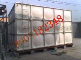 玻璃钢水箱的使用范围保温性能好无锈蚀不渗漏安装方便