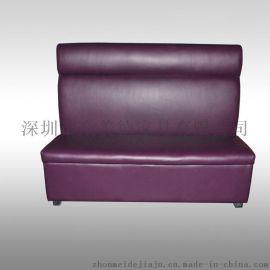 广州餐饮沙发桌椅批发厂家供应现代餐厅卡座