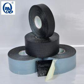 聚丙烯胶带厂家 供应迈强牌 1.00mm纤维防腐胶带 聚丙烯网状增强编织纤维防腐胶带