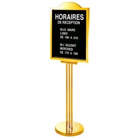 不锈钢酒店指示牌 大堂指示牌