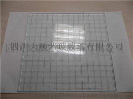 夹丝玻璃定做厂家出售夹丝玻璃