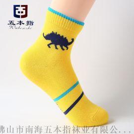 襪子生產廠家直批 卡通圖案純棉吸汗品牌兒童襪子批發