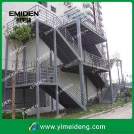 供应户外碳钢消防楼梯YMD-0626/安全实