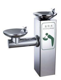 愉升YS-HWF02不锈钢户外饮水台双喷户外饮水机公园饮水机校园直饮机