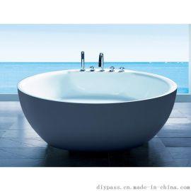 鼎派卫浴DIYPASS BX-800F亚克力古典休闲浴缸
