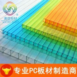聚碳酸酯板透明PC中空阳光板生产厂家