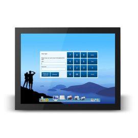 21.5寸3MM超薄嵌入式工业五线电阻触摸显示器16:9宽屏