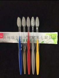 软毛牙刷、一次性尼龙丝牙刷、酒店牙刷价格、酒店用品