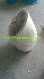 濮阳防爆轴流通风机GRABZ-3.15|玻璃钢材质防爆轴流风机|乳白色防爆轴流风机配自垂百叶