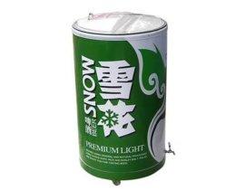 120L啤酒亚克力大冰桶 产品上市促销宣传