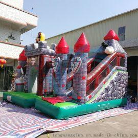 廠家直銷新品淘氣堡兒童樂園 充氣城堡滑梯蹦牀遊藝設施運動戶外