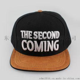 仲达外贸出口帽子定做 立体刺绣logo平板棒球帽 韩版嘻哈街舞平沿帽