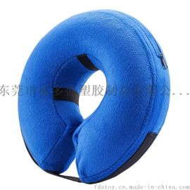 充气宠物脖圈 宠物防护脖圈  绒布宠物脖圈
