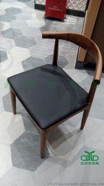 餐椅定制 餐厅桌椅直销厂家 实木水曲柳餐椅批发