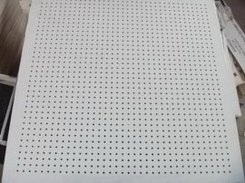 PVC飾面衝孔石膏板(154貼面SOUND001)