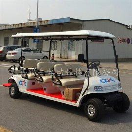 直供淄博8座電動高爾夫球車,度假村四輪觀光車,看房接待車