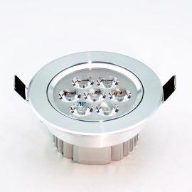 好恆照明專業生產LED天花射燈筒燈圓形天花孔燈 天花板吊頂專用射燈