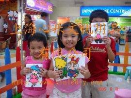 上海環保兒童膠畫批發