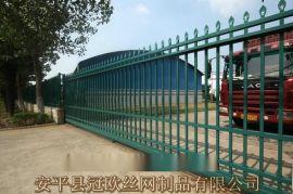 锌钢栅栏大门,锌钢小区大门,消防口大门,庭院铁艺门,别墅外墙栏杆门