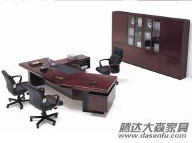 北京主管经理实木办公桌SW-D024厂家直销
