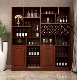 板式酒柜定制厂家珠海圣德家居专业定制酒柜