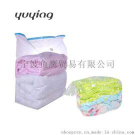 大号立体3D纯色透明真空压缩袋收纳整理袋批发