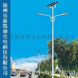 新款LED太陽能路燈 一體化 6-10米