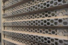 奥迪展厅外墙装饰穿孔铝板 打孔铝板 4S店装饰铝板