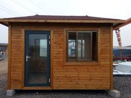 来样定做可移动式防腐木房屋