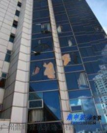 拆除外墙玻璃 拆外墙固定玻璃