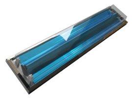 東莞LED雙管不鏽鋼直邊吸頂淨化燈具