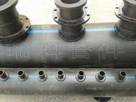 PE集分水器2015全新工艺 地源热泵PE分水器