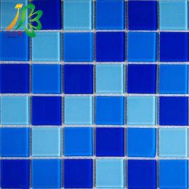 重庆江北区专业水晶玻璃马赛克泳池专用工程瓷砖生产厂家直销