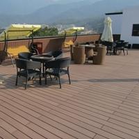 提供木塑地板配件 L型包邊條62*55露臺地板 木塑戶外地板