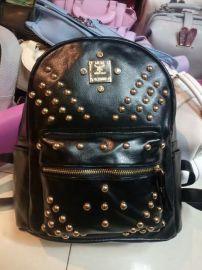 新款包包時尚韓版軟質感水洗皮雙肩包女包時尚背包廠家批發