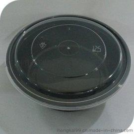 圆形打包盒,一次性环保餐盒