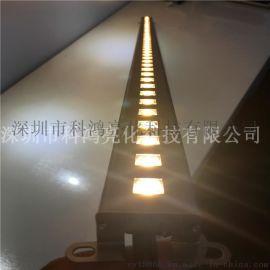 led線性洗牆燈 貼片線條燈戶外防水硬燈條七彩洗牆燈專業廠家