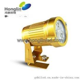 金黄色瓦片灯_3w圆形瓦楞灯首选鸿麟照明