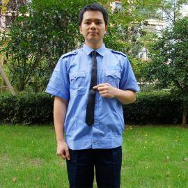 保安服短袖襯衣夏款酒店物業小區工裝制服套裝男執勤服夏裝