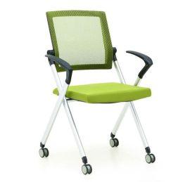 简约时尚职员办公折叠椅 家用网椅定制批发
