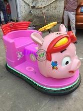 木羊人2017新款廣場發光豬豬俠碰碰車